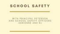 School Safety Parent Presentation - POSTPONED