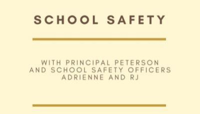 School Safety Presentation - 3/12
